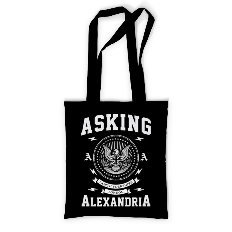 Сумка с полной запечаткой Printio Asking alexandria футболка с полной запечаткой для мальчиков printio asking alexandria the black