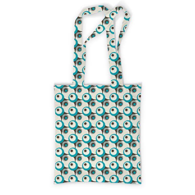 Сумка с полной запечаткой Printio Круги рюкзак с полной запечаткой printio круги