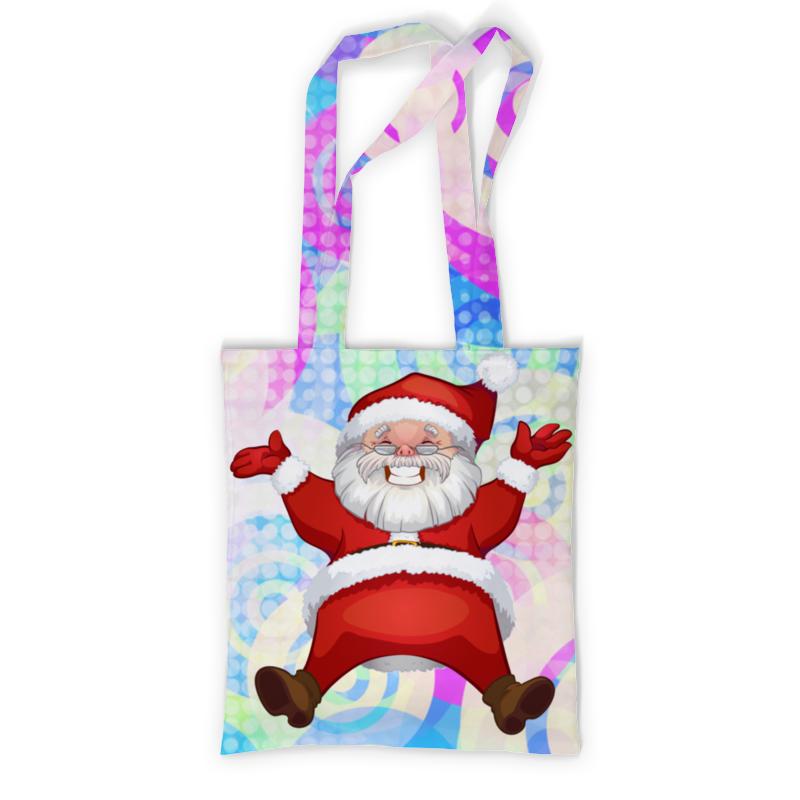 купить Сумка с полной запечаткой Printio Санта клаус по цене 830 рублей