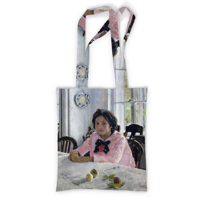 Printio Девочка с персиками сумка с полной запечаткой printio девочка с персиками