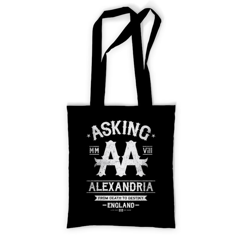 Сумка с полной запечаткой Printio Asking alexandria тетрадь на пружине printio asking alexandria