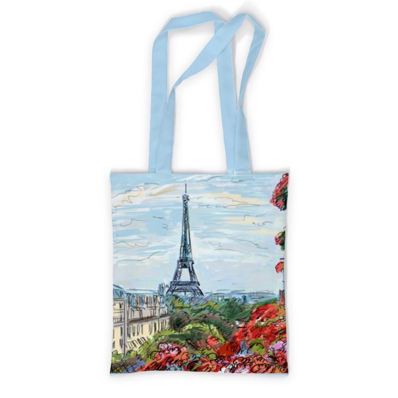 Сумка с полной запечаткой Printio Эйфелева башня рюкзак с полной запечаткой printio эйфелева башня