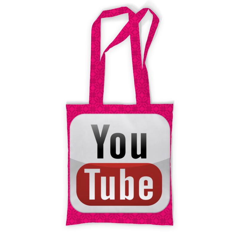 Сумка с полной запечаткой Printio Youtube сумка с полной запечаткой printio куница