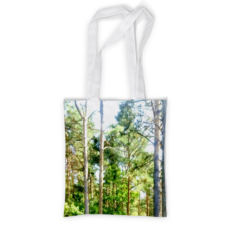 Сумка с полной запечаткой Printio Сосны в лесу