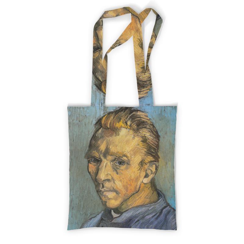 Сумка с полной запечаткой Printio Портрет художника без бороды (винсент ван гог) рюкзак с полной запечаткой printio портрет четы арнольфини ян ван эйк