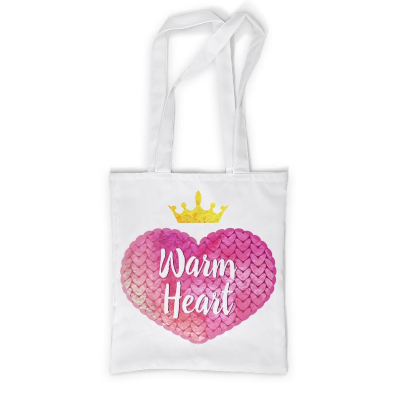 Сумка с полной запечаткой Printio Теплое сердце сумка с полной запечаткой printio яркое сердце