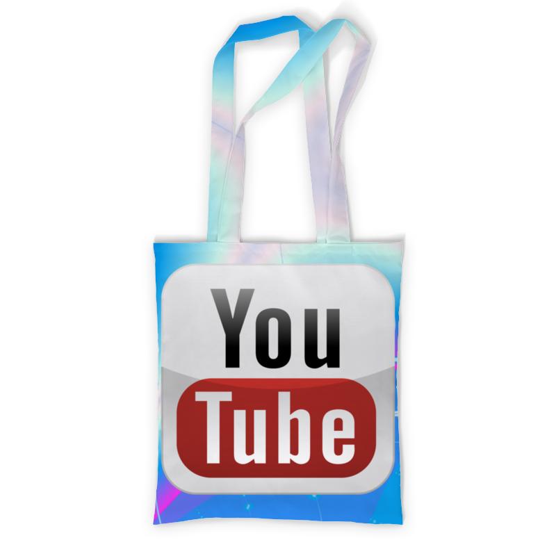 Сумка с полной запечаткой Printio Youtube кепка printio youtube