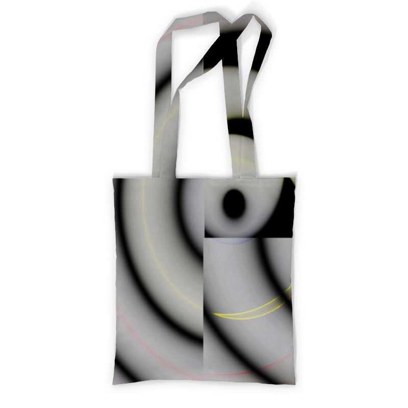 Сумка с полной запечаткой Printio Спиральный паттерн. круги рюкзак с полной запечаткой printio круги