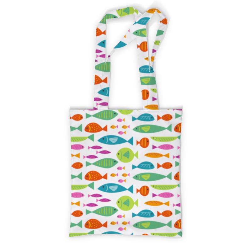 Сумка с полной запечаткой Printio Морские рыбки сумка с полной запечаткой printio куница