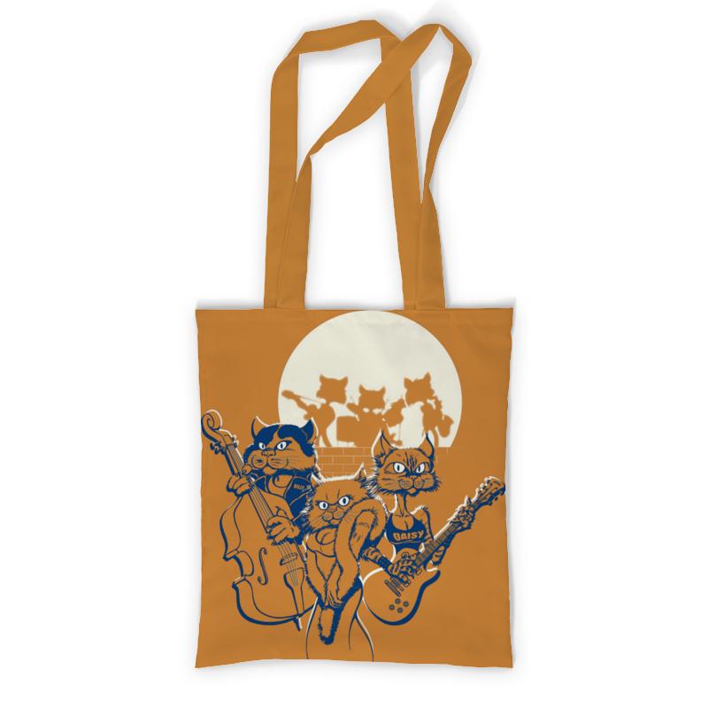 Сумка с полной запечаткой Printio Кошачий концерт сумка с полной запечаткой printio музыка стикеры