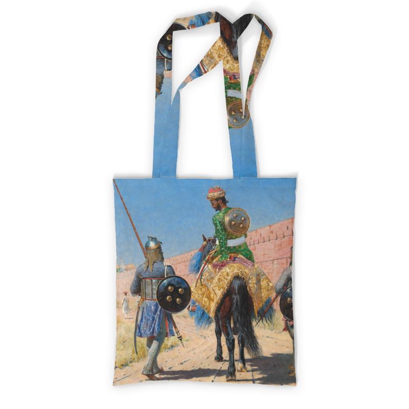 Printio Всадник-воин в джайпуре (василий верещагин) сумка printio один в поле воин если он по русски скроен