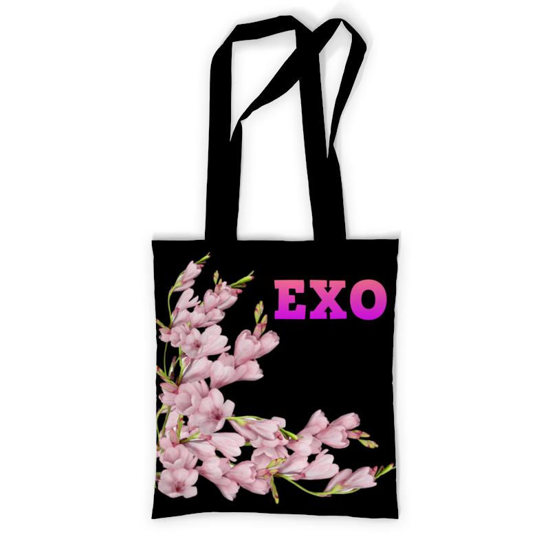 Printio Exo розовые цветы невидимка для волос funny bunny розовые цветы 2 шт