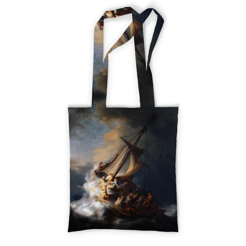 Сумка с полной запечаткой Printio Христос во время шторма на море галилейском грельсия изабеллы