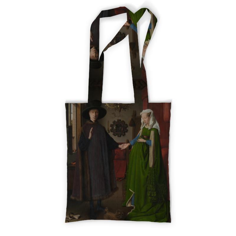 Сумка с полной запечаткой Printio Портрет четы арнольфини (ян ван эйк) сумка с полной запечаткой printio девушка с жемчужной серёжкой ян вермеер