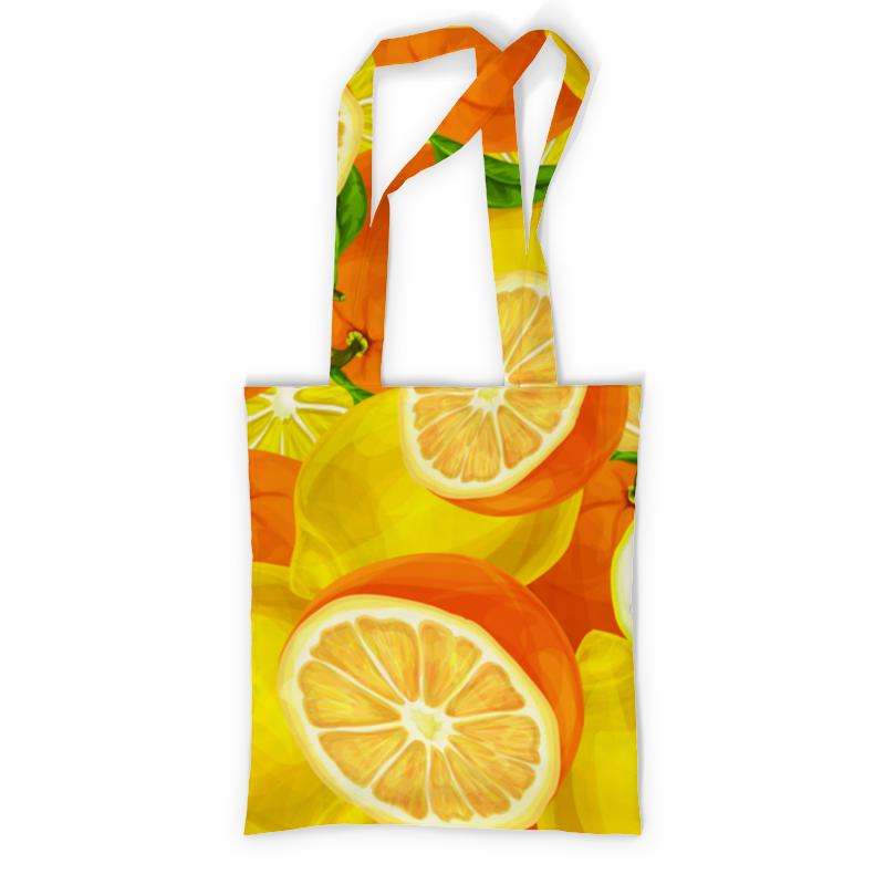 Printio Цитрусовая фартук с полной запечаткой printio лимоны