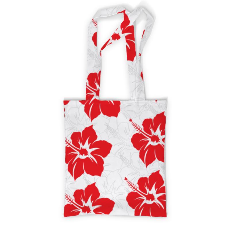 Сумка с полной запечаткой Printio Цветочная сумка с полной запечаткой printio сумка красные цветы