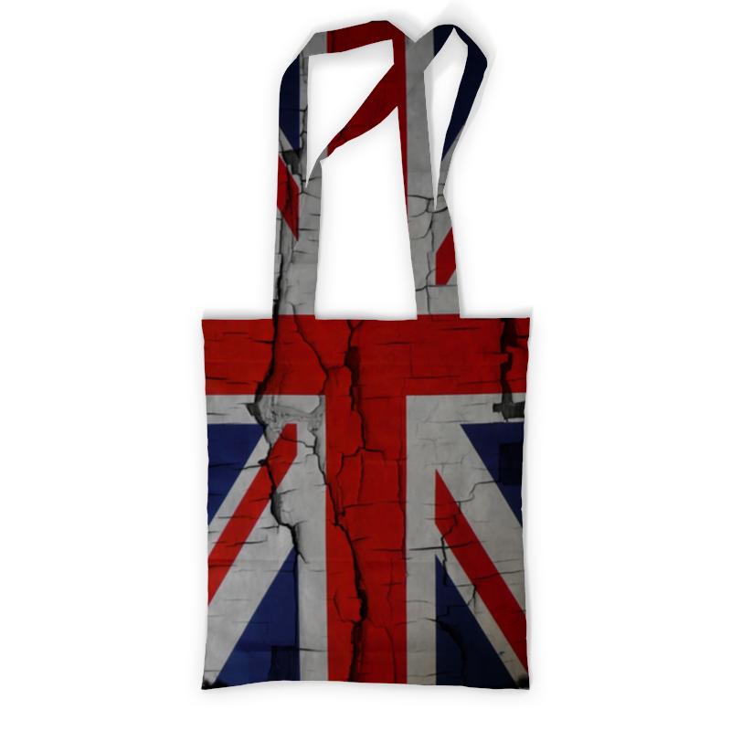 Printio Британский флаг подушка 40х40 с полной запечаткой printio британский флаг