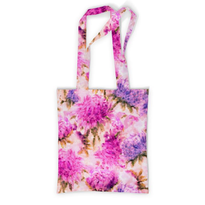 Сумка с полной запечаткой Printio Акварельные яркие розовые цветы невидимка для волос funny bunny розовые цветы 2 шт
