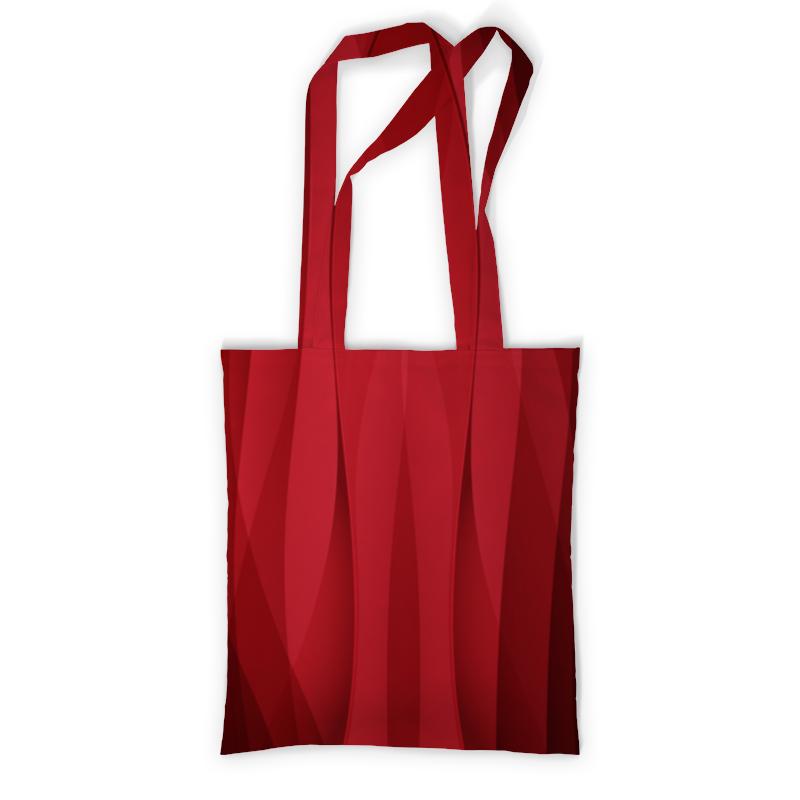 Сумка с полной запечаткой Printio Красная абстракция prada красная стеганая сумка diagramme