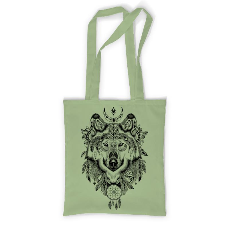 Сумка с полной запечаткой Printio Тотем. волк сумка с полной запечаткой printio в стиле майя
