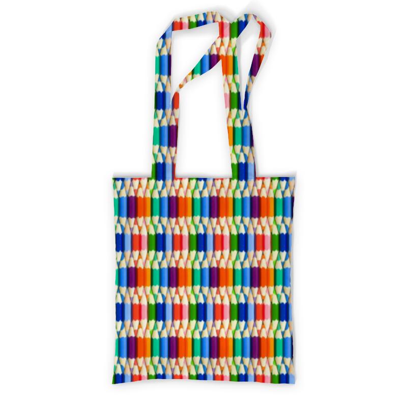 Сумка с полной запечаткой Printio Карандаши сумка с полной запечаткой printio куница