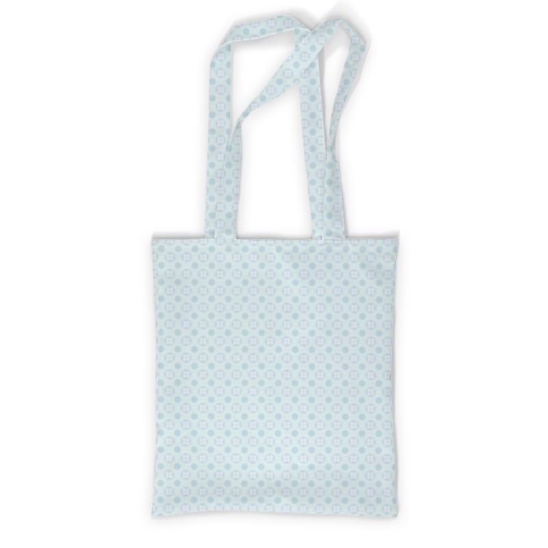 Сумка с полной запечаткой Printio Голубой узор сумка с полной запечаткой printio магнитический узор ини ян