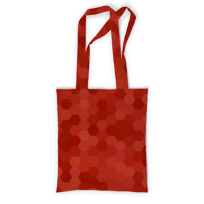 Сумка с полной запечаткой Printio Цветные соты сумка с полной запечаткой printio геометрия соты