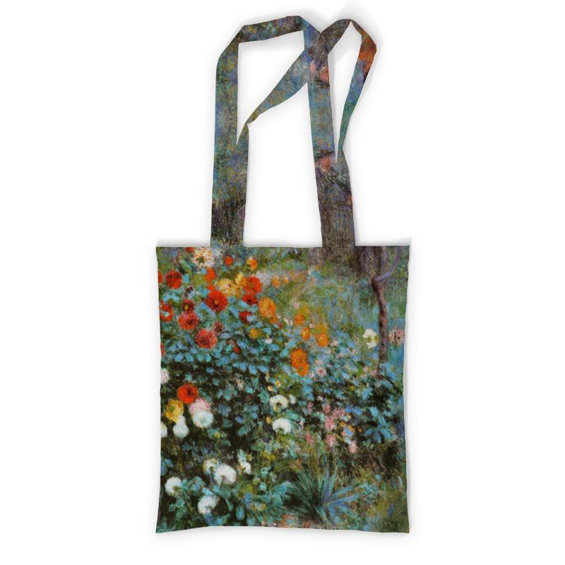 Printio Сад на улице корто (сад на монмартре) (ренуар) сумка с полной запечаткой printio сад на улице корто сад на монмартре ренуар