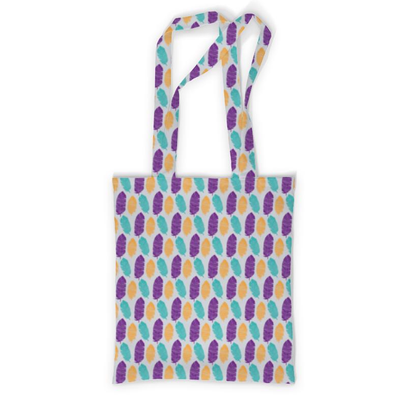Сумка с полной запечаткой Printio Разноцветные перья рюкзак с полной запечаткой printio перья