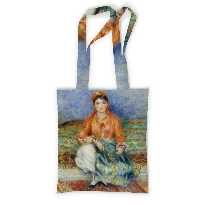 Printio Алжирская девушка (картина ренуара) сумка с полной запечаткой printio зонтики пьер огюст ренуар