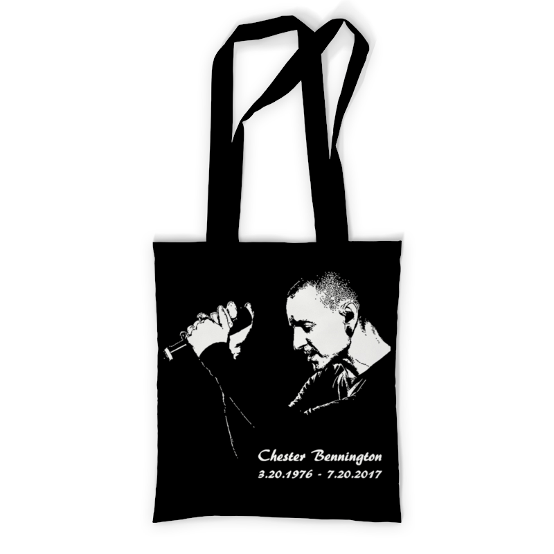 Сумка с полной запечаткой Printio Chester - linkin park сумка с полной запечаткой printio chester bennington
