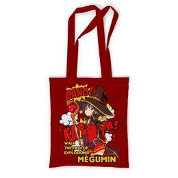 """Сумка с полной запечаткой """"Мегумин"""" - аниме, манга, konosuba, коносуба, коносуба мегумин"""