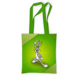 """Сумка с полной запечаткой """"Багз Банни"""" - мультфильмы, looney tunes, кролик, багз банни, весёлые мелодии"""