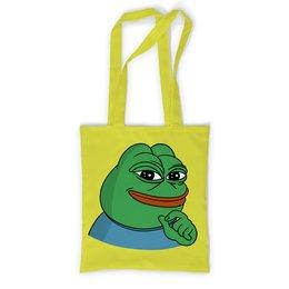 """Сумка с полной запечаткой """"Pepe the frog"""" - мем, мемы"""