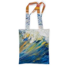 """Сумка с полной запечаткой """"Волна"""" - арт, стиль, море, волны, драйв"""