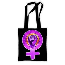 """Сумка с полной запечаткой """"Феминизм"""" - феминизм, feminist, feminism, феминистка, girlpower"""