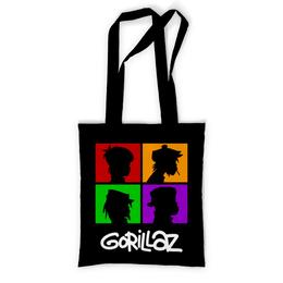 """Сумка с полной запечаткой """"Gorillaz"""" - gorillaz, гориллаз, музыка, группы"""