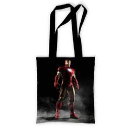"""Сумка с полной запечаткой """"Железный человек"""" - рисунок, кино, карандаш, железный человек, iron man"""