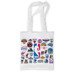 """Сумка с полной запечаткой """"NBA. Национальная баскетбольная ассоциация"""" - баскетбол, nba"""