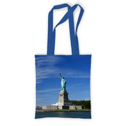 """Сумка с полной запечаткой """"Статуя Свободы"""" - нью-йорк, америка, статуя свободы"""
