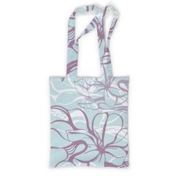 "Сумка с полной запечаткой ""Fantasy Lily "" - flower, fashion, pattern, line, seamless"