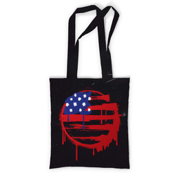 "Сумка с полной запечаткой ""American Flag (Американский флаг)"" - америка, usa, флаг, сша, flag"