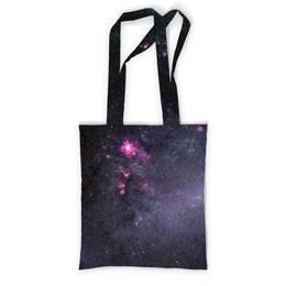 """Сумка с полной запечаткой """"Вселенная"""" - звезды, космос, вселенная, наука, галактика"""