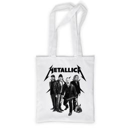 """Сумка с полной запечаткой """"Metallica"""" - metallica, металлика, метал, рок, группы"""