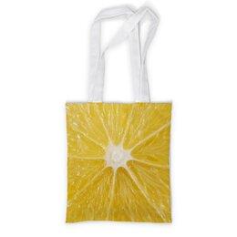 """Сумка с полной запечаткой """"LEMON"""" - fresh, лимон, цитрусы, citron"""