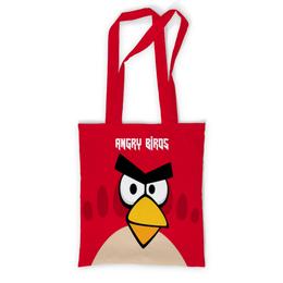 """Сумка с полной запечаткой """"Angry Birds (Terence)"""" - terence, angry birds, птички, компьютерная игра, мультфильм"""