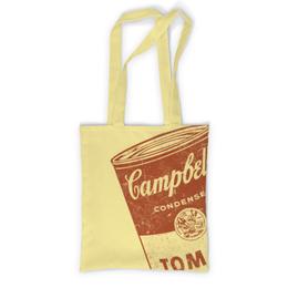 """Сумка с полной запечаткой """"Банка с супом Кэмпбелл"""" - арт, поп арт, энди уорхол, суп кэмпбелл, campbells soup can"""