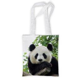 """Сумка с полной запечаткой """"Панда"""" - фотография, животное, панда"""