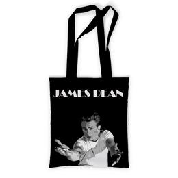"""Сумка с полной запечаткой """"James Dean Джеймс Дин"""" - легенда, джеймс дин, james dean, rebel without a cause, бунтарь без причины"""
