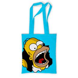 """Сумка с полной запечаткой """"Гомер Симпсон"""" - simpsons, homer, прикольные, гомер симпсон, симпспоны"""